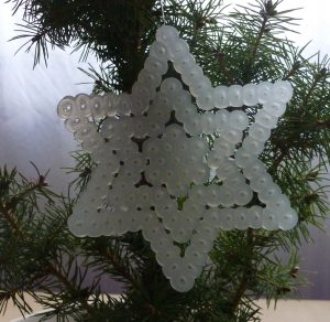 Stern, Weihnachten, Bügelperlen