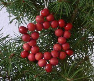 Perlen, Stern, basteln, Weihnachten