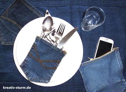 Jeans-Täschchen
