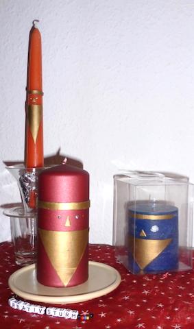 Nikolaus-Kerzen